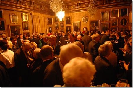 קבלת הפנים - האקדמיה המלכותית למדעים