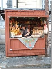 חנות קטנה מעץ