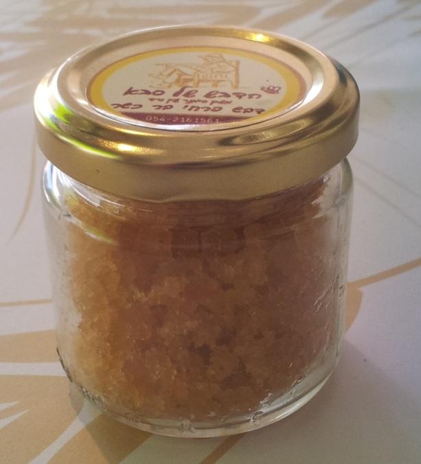 לא, זה לא סוכר, זה גבישים של דבש