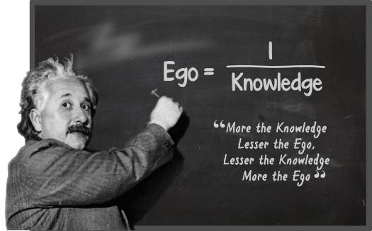 ego and knowledge